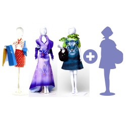 3 + 1 Free : 4 Dress Your Doll, Levels 1 and 2 scissors